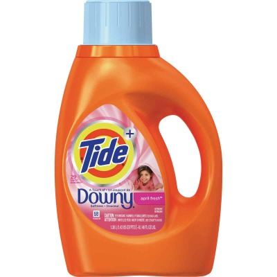Tide+ 46 Oz. 24 Load Downy 2X Liquid Laundry Detergent